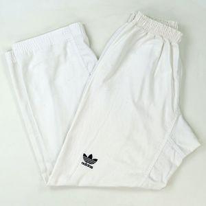 Vtg 90s Adidas Trefoil Hip Hop Streetwear Pants